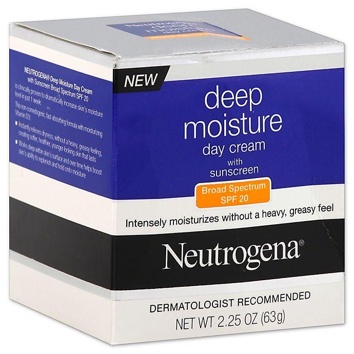Alternate image 1 for Neutrogena® 2.25 oz. Day Cream with Broad Spectrum SPF 20