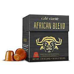 Café Vianté® 10-Count African Blend Espresso Capsules