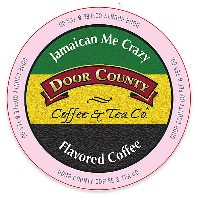 Alternate image 1 for 12-Count Door County Coffee & Tea Co. Jamaican Me Crazy Coffee for Single Serve Coffee Makers