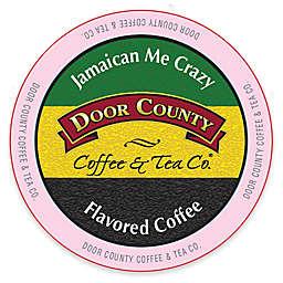 12-Count Door County Coffee & Tea Co. Jamaican Me Crazy Coffee for Single Serve Coffee Makers