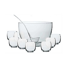 Dailyware™ Intent 10-Piece Punch Bowl Set