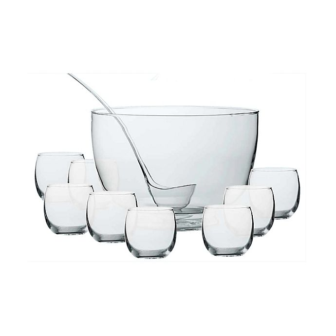 Alternate image 1 for Dailyware™ Intent 10-Piece Punch Bowl Set