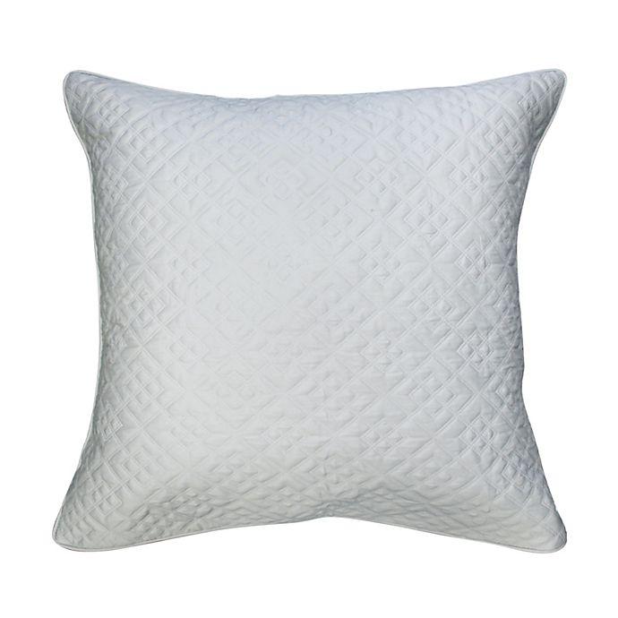 Alternate image 1 for Canadian Living High Park European Pillow Sham in Light Blue