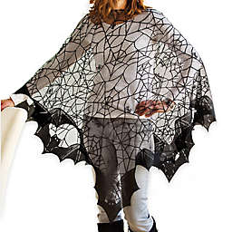 Bats! Poncho in Black