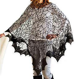 Bats! Poncho in Black