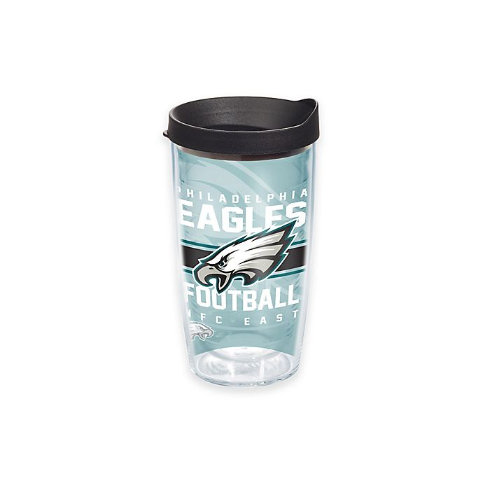 Alternate image 1 for Tervis® NFL Philadelphia Eagles Gridiron 16 oz. Wrap Tumbler with Lid