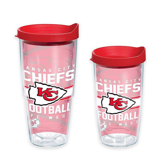 Alternate image 1 for Tervis® NFL Kansas City Chiefs Gridiron Wrap Tumbler with Lid