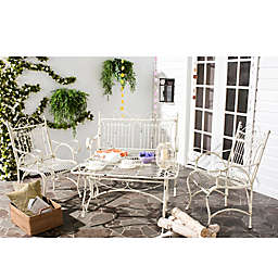 Safavieh Leah 4-Piece Antique Outdoor Set