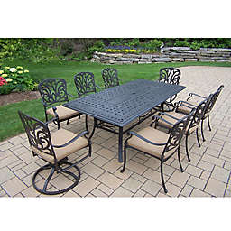 Oakland Living Clairmont 9-Piece Outdoor Dining Set