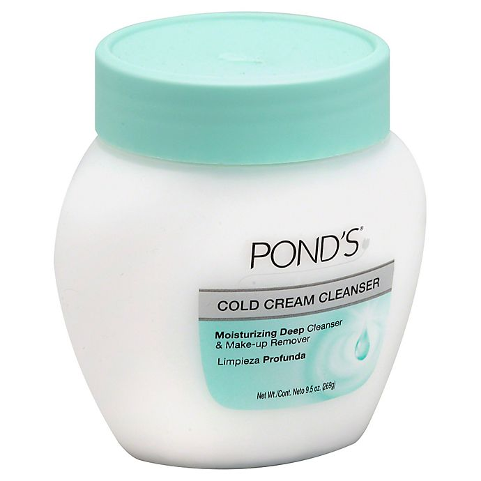 Alternate image 1 for Pond's® 9.5 oz. Cold Cream Cleanser Moisturizing Deep Cleanser & Makeup Remover