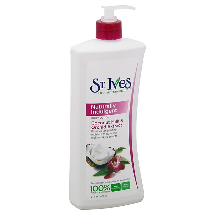 Alternate image 1 for St. Ives® 21 oz. Naturally Indulgent Coconut Milk and Orchid Extract Body Lotion