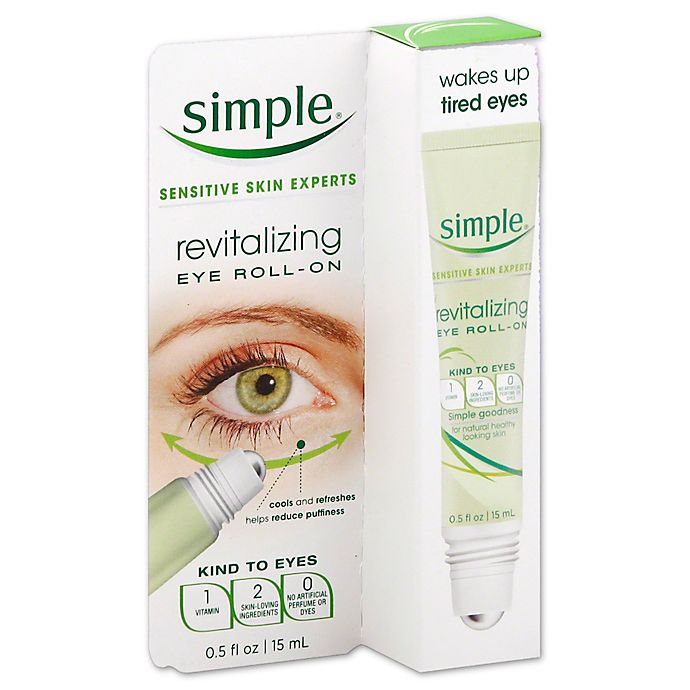 Alternate image 1 for Simple® .5 oz. Revitalizing Eye Roll-On