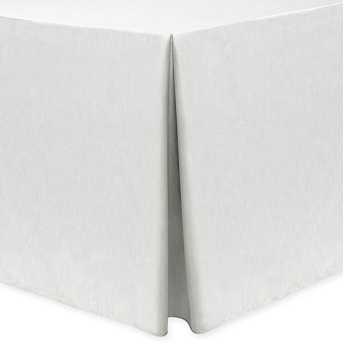 Alternate image 1 for Majestic 30-Inch x 72-Inch Oblong Tablecloth in White
