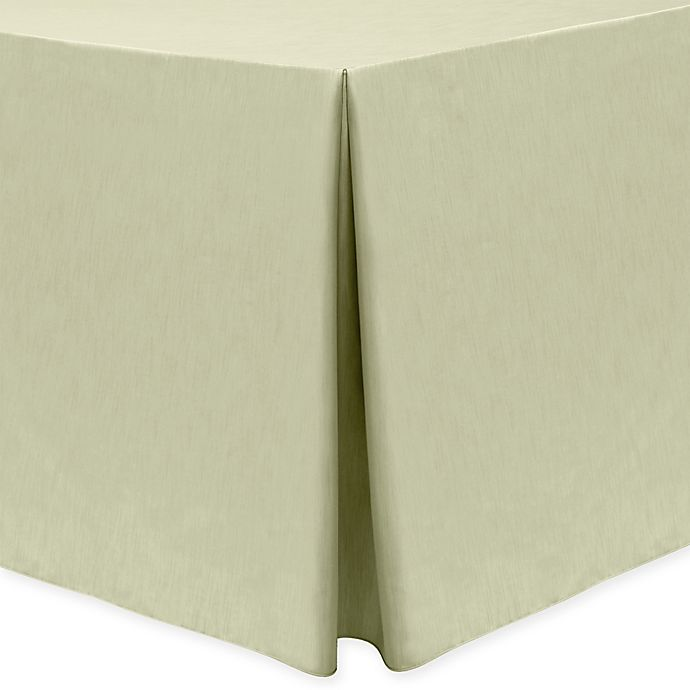 Alternate image 1 for Majestic 30-Inch x 72-Inch Oblong Tablecloth in Tan