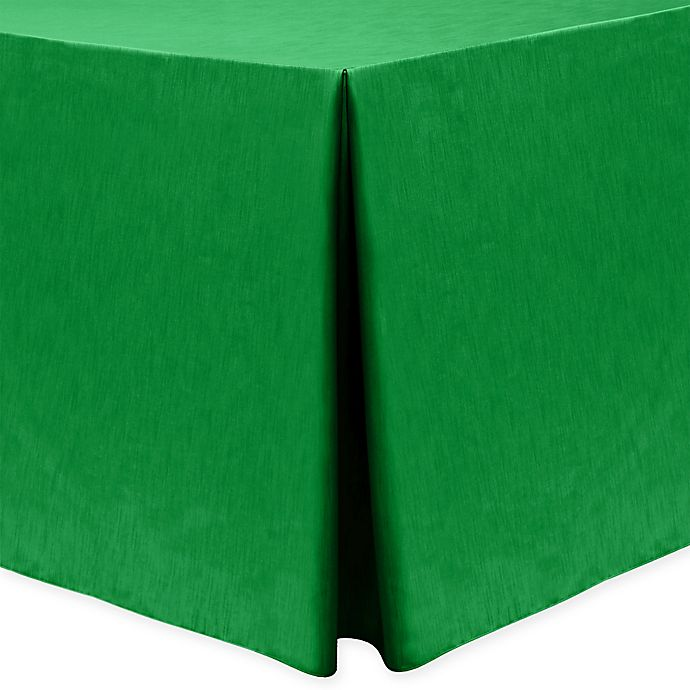 Alternate image 1 for Majestic 30-Inch x 96-Inch Oblong Tablecloth in Emerald
