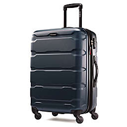 Samsonite® Omni 24-Inch Hardside Spinner Checked Luggage in Teal