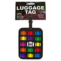 My Bag 3-D Luggage Tag in Black