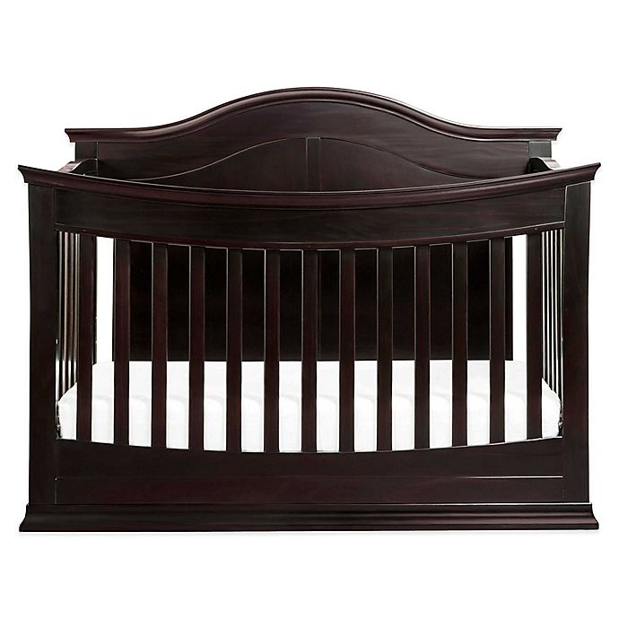 Alternate image 1 for Meadow 4-In-1 Convertible Crib in Dark Java