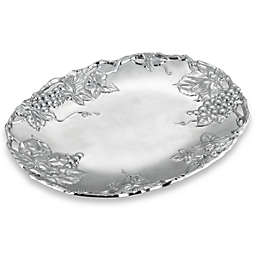 Arthur Court Designs Grape Aluminum Oval Platter