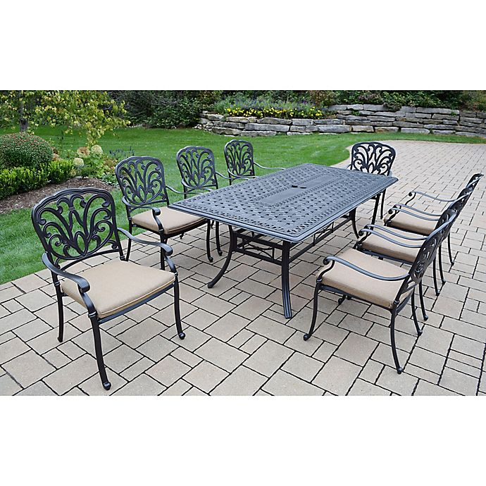 Alternate image 1 for Oakland Living Clairmont 9-Piece Outdoor Dining Set