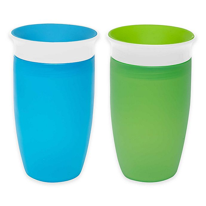 Alternate image 1 for Munchkin® Miracle® 360º 2-Pack 10 oz. Sippy Cups