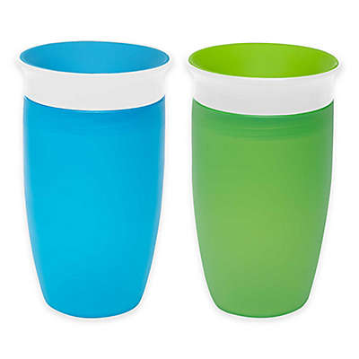 Munchkin® Miracle® 360º 2-Pack 10 oz. Sippy Cups