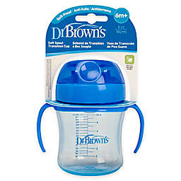 Dr. Brown's® 6 oz. Soft Spout Transition Cup in Blue