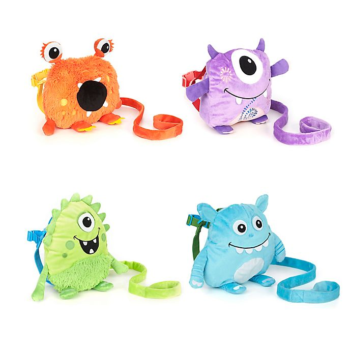Alternate image 1 for Nuby™ Monster Backpack Harness