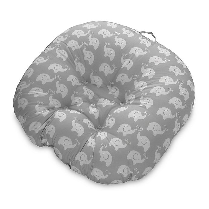 Alternate image 1 for Boppy® Elephant Love Newborn Lounger in Grey