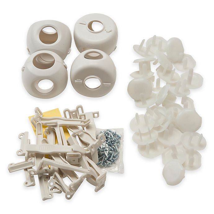 Alternate image 1 for Safety 1st® 46-Piece Safety Essential Set in Cream