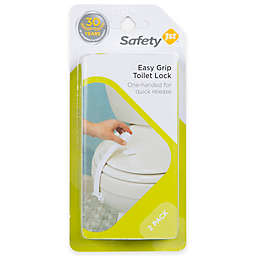 Safety 1st® 2-Pack Easy Grip Toilet Lock in White