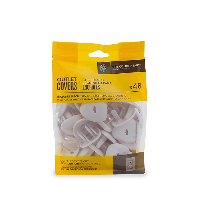 Alternate image 1 for Prince Lionheart® 48-Pack Outlet Covers