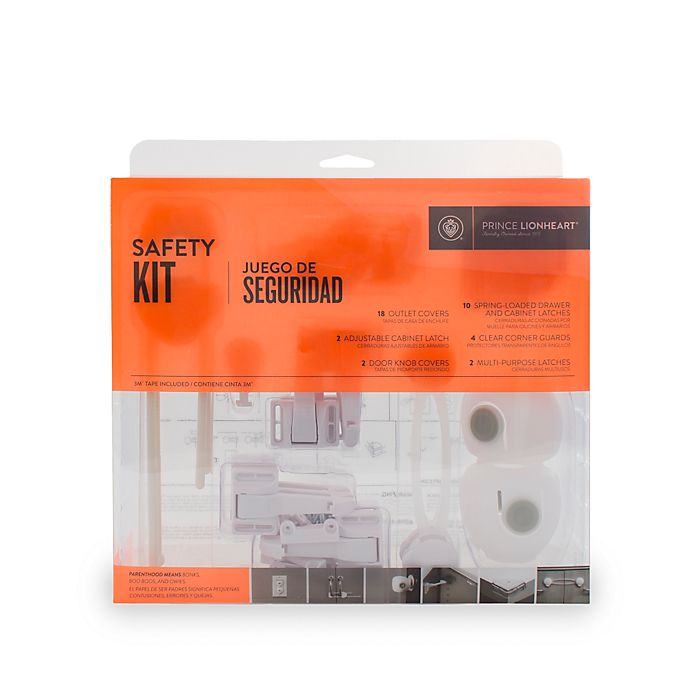 Alternate image 1 for Prince Lionheart 38-Piece Safety Kit