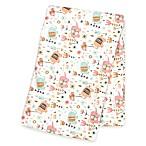 Trend Lab® Playful Elephants Deluxe Flannel Swaddle Blanket