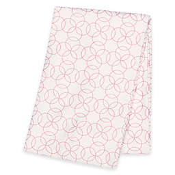 Trend Lab® Circles Deluxe Flannel Swaddle Blanket in Pink