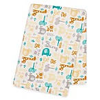 Trend Lab® Lullaby Zoo Deluxe Flannel Swaddle Blanket