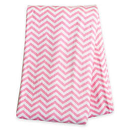 Trend Lab® Chevron Deluxe Flannel Swaddle Blanket in Pink