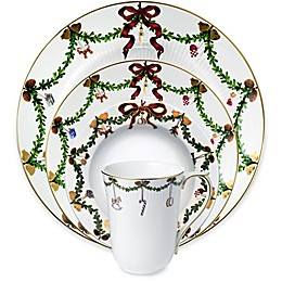 Royal Copenhagen Star Fluted Christmas Dinnerware Collection