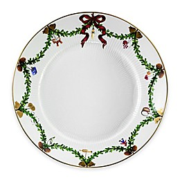 Royal Copenhagen Star Fluted Christmas Salad Plate
