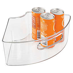 iDesign® Cabinet Binz™ Lazy Susan Quarter Wedge Storage Bin with Handle