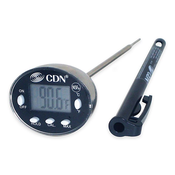 Alternate image 1 for CDN ProAccurate® Cooking Thermometer