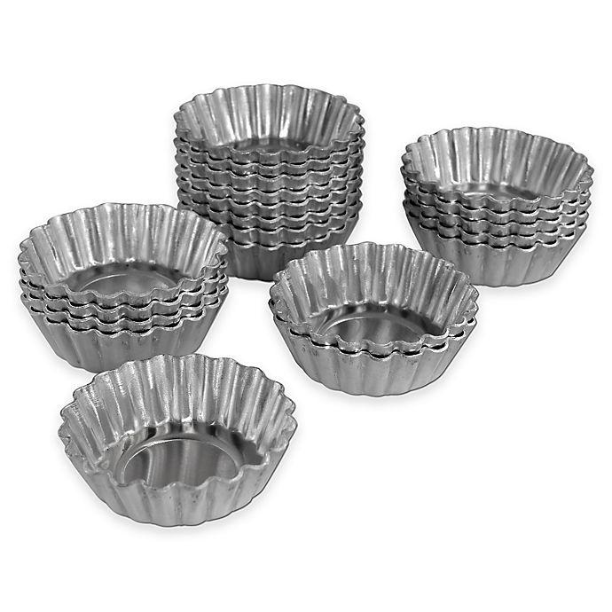 Alternate image 1 for Fat Daddio's ProSeries Mini Tartlet Pans (Set of 20)