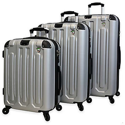Mia Toro ITALY Regale Composite 3-Piece Hardside Spinner Suitcase Set