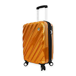 Mia Toro ITALY Onda Fusion 20-Inch 8-Wheel Spinner Carry On Luggage