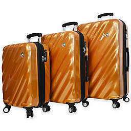 Mia Toro ITALY Onda Fusion 3-Piece 8-Wheel Expandable Spinner Set