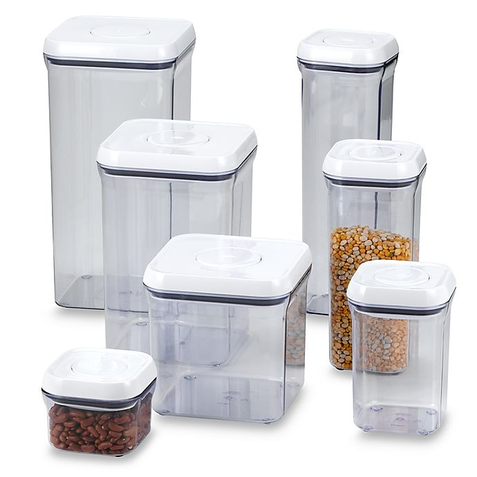Alternate image 1 for OXO Good Grips® Square Food Storage POP Container