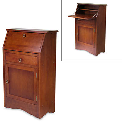 Regalia Wood Secretary Desk in Walnut