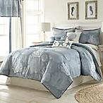 Siesta Key 7-Piece King Comforter Set in Blue