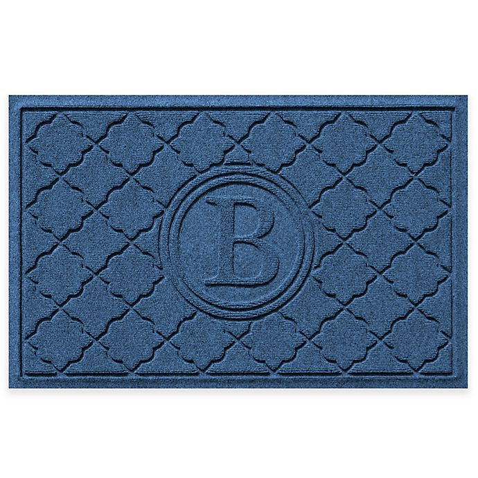 Alternate image 1 for Weather Guard™ Bombay23-Inch x 35-Inch  Door Mat in Navy