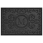 Weather Guard™ Baroque 23-Inch x 35-Inch Door Mat in Charcoal